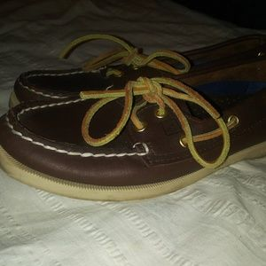 Sperry Top-Sider   Boat Shoes slip on loafers sz 6